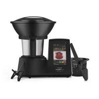Mycook Touch Black Edition Robot de cocina multifunción con wifi y balanza integrada, recetas guiadas ilimitadas. Calentamiento por inducción hasta 140º. Edición limitada.