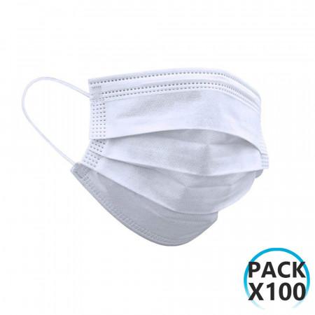 Pack 100 Mascarillas Higiénicas