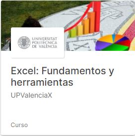 CursoExcel Fundamentos y herramientas