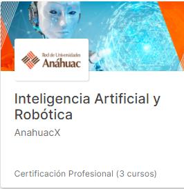Curso Inteligencia Artificial y Robótica
