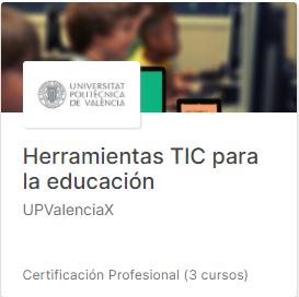 Curso Herramientas TIC para la educación
